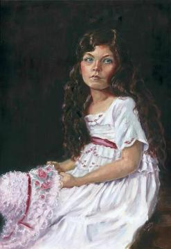 Katchie Bell by Barbara Gentry (Oil)